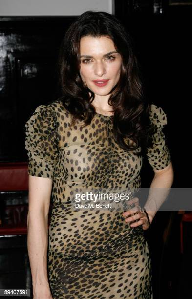 """Rachel Weisz attends the afterparty following the press night for """"A Streetcar Named Desire"""" at The National Cafe on July 28, 2009 in London, England."""