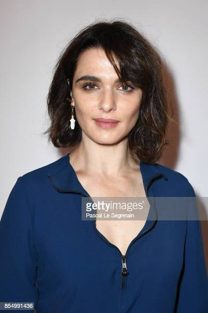 Rachel Weisz attends the Chloe show as part of the Paris Fashion Week Womenswear Spring/Summer 2018 on September 28 2017 in Paris France