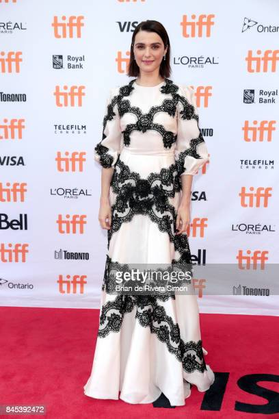 Rachel Weisz attends the 'Disobedience' premiere during the 2017 Toronto International Film Festival at Princess of Wales Theatre on September 10...