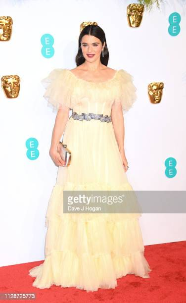 Rachel Weisz attends the EE British Academy Film Awards at Royal Albert Hall on February 10 2019 in London England
