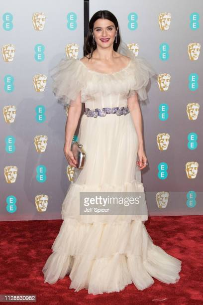 Rachel Weisz attends the EE British Academy Film Awards at Royal Albert Hall on February 10, 2019 in London, England.