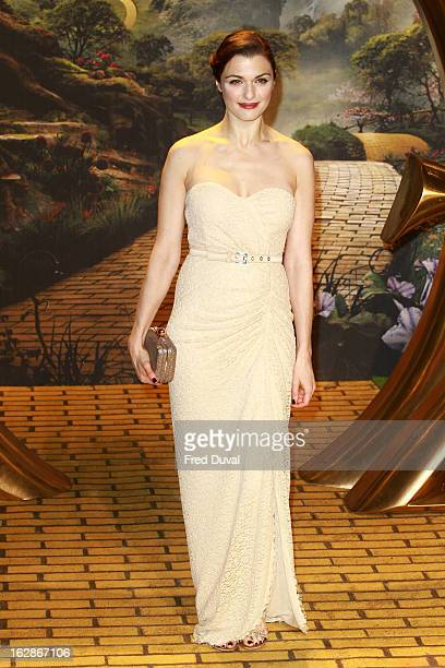 Rachel Weisz attends the European Film Premiere of 'Oz The Great And Powerful' at The Empire Cinema on February 28 2013 in London England