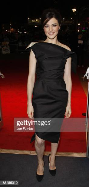 Rachel Weisz attends the gala screening of 'The Brothers Bloom' at Odeon West End on October 27 2008 in London England
