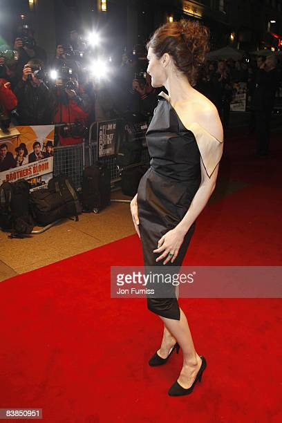 Rachel Weisz attends the gala screening of 'The Brothers Bloom' at Odeon West End on October 27, 2008 in London, England.
