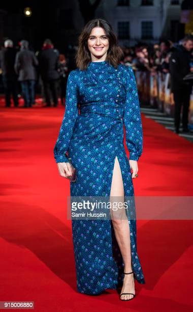 Rachel Weisz attends 'The Mercy' World Premiere at The Curzon Mayfair on February 6 2018 in London England