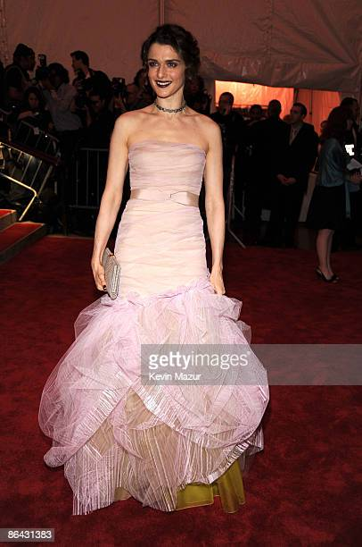 """Rachel Weisz attends """"The Model as Muse: Embodying Fashion"""" Costume Institute Gala at The Metropolitan Museum of Art on May 4, 2009 in New York City."""