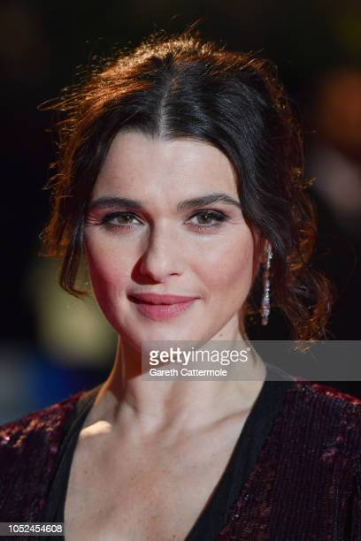 Rachel Weisz attends the UK Premiere of The Favourite American Express Gala at the 62nd BFI London Film Festival on October 18 2018 in London England