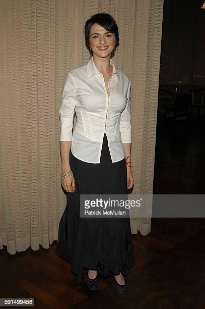 Rachel Weisz attends Wayuu Taya Foundation Dinner at Tribeca Grand Hotel NYC USA on June 20 2005