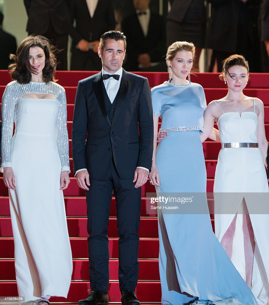 Rachel Weisz, Colin Farrell, Lea Seydoux and Jessica Barde attend the 'Lobster' Premiere during the 68th annual Cannes Film Festival on May 15, 2015 in Cannes, France.