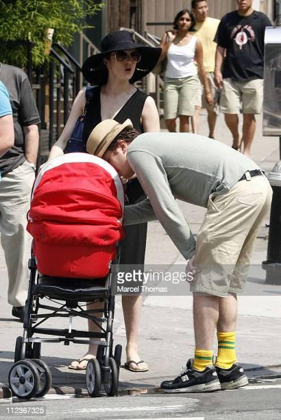 Rachel Weisz Darren Aronofsky and Henry Chance Aronofsky