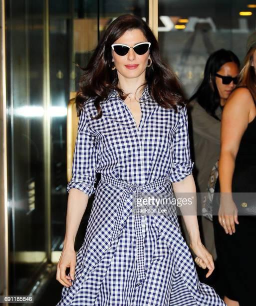 Rachel Weisz departs the Today show on June 1 2017 in New York City