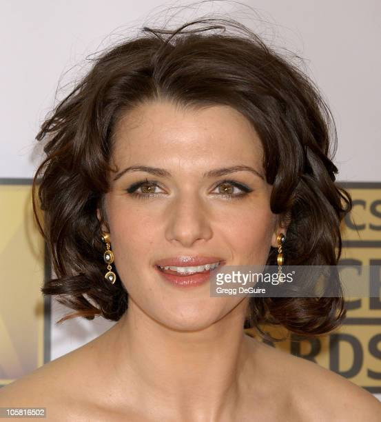 Rachel Weisz during 11th Annual Critics' Choice Awards Arrivals at Santa Monica Civic Auditorium in Santa Monica California United States