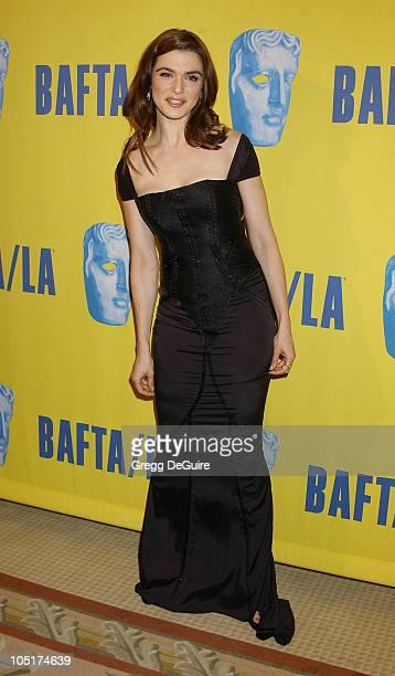 Rachel Weisz during 12th Annual BAFTA/LA Britannia Awards at Century Plaza Hotel in Century City California United States