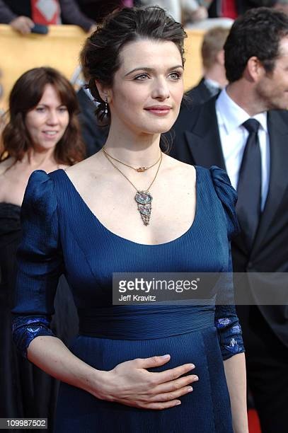 Rachel Weisz during 12th Annual Screen Actors Guild Awards Arrivals at Shrine Auditorium in Los Angeles CA United States