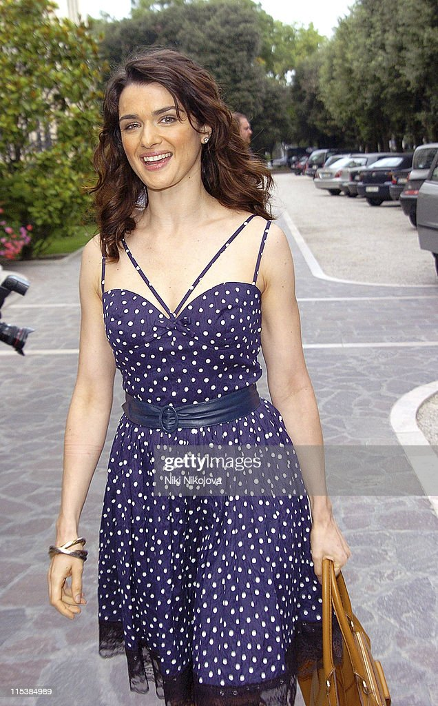 Rachel Weisz during 2005 Venice Film Festival - Celebrity Sightings Outside the Des Bains Hotel - September 8, 2005 at Des Bains Hotel in Venice Lido, Italy.