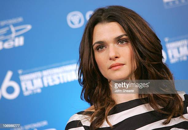 """Rachel Weisz during 31st Annual Toronto International Film Festival - """"The Fountain"""" Press Conference at Sutton Place in Toronto, Ontario, Canada."""