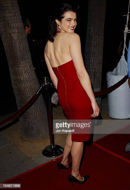 Rachel Weisz during 'Confidence' Los Angeles Premiere at The Academy Of Motion Pictures Arts Sciences in Beverly Hills California United States