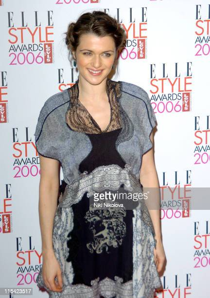Rachel Weisz during ELLE Style Awards 2006 Arrivals at Atlantis Gallery in London Great Britain