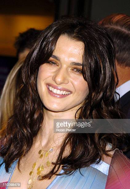 Rachel Weisz during Opening Night of the 43rd Annual New York Film Festival 'Good Night and Good Luck' Premiere Arrivals at Avery Fisher Hall in New...