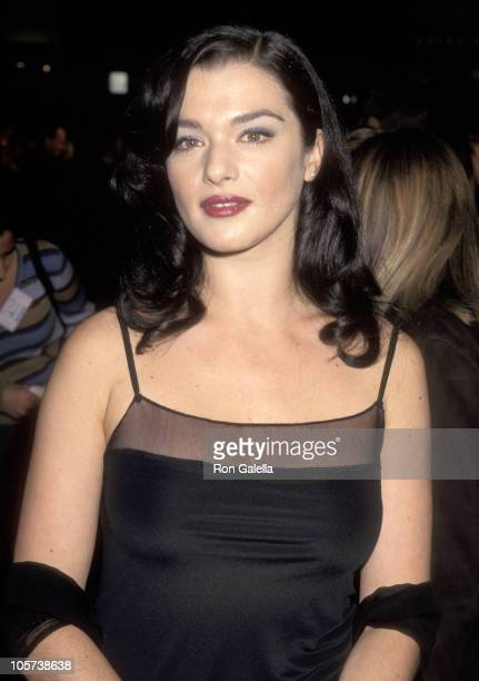 Rachel Weisz during Rachel Weisz sighting at the Premiere of 'Swept From The Sea' October 23 1997 at Mann's Chinese Theater in Hollywood California...