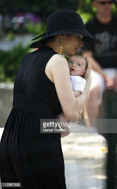 Rachel Weisz during Rachel Weisz sighting in New York City July 9 2006 in New York City New York United States