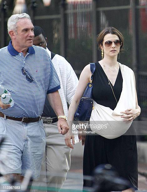 Rachel Weisz Sighting In New York City July 9 2006 Stock Photos And