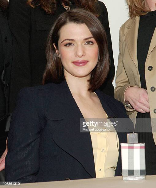 Rachel Weisz during Rachel Weisz The New Face of 'Burberry London' Launches The New Fragrance for Women by Burberry at Bloomingdales 59th and...