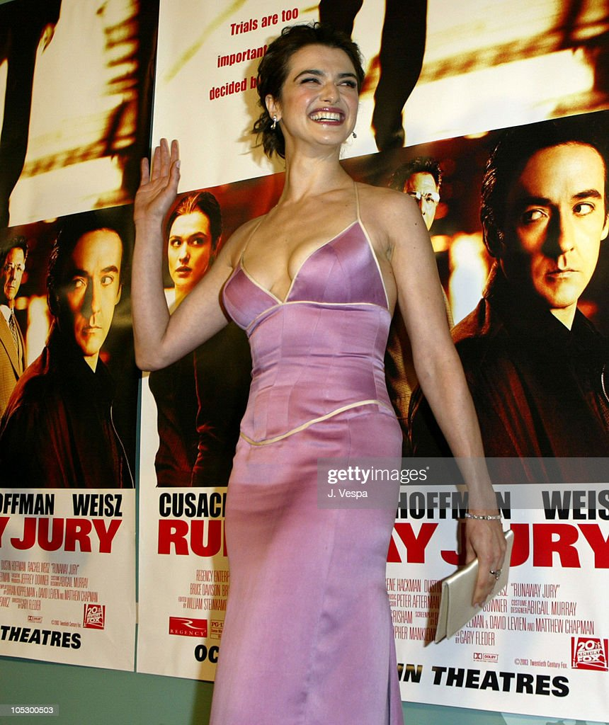 Rachel Weisz during 'Runaway Jury' Los Angeles Premiere - Red Carpet at Cinerama Dome in Hollywood, California, United States.