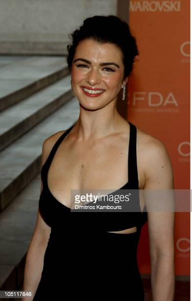 Rachel Weisz during The 2003 CFDA Fashion Awards Arrivals at The New York Public Library in New York City New York United States