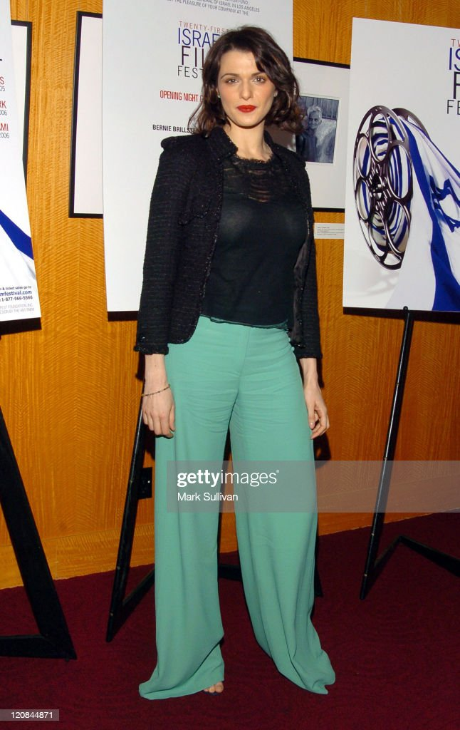 Rachel Weisz during The 21st Israel Film Festival Opening Night Gala - Arrivals at Academy of Motion Pictures Arts & Sciences in Beverly Hills, California, United States.