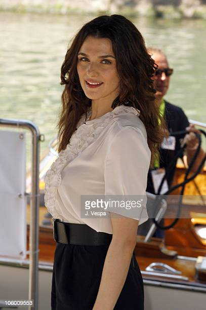 Rachel Weisz during The 63rd International Venice Film Festival 'The Fountain' Boat Arrivals in Venice Lido Italy