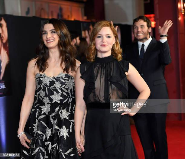 Rachel Weisz Holliday Grainger and Sam Claflin attend the World Premiere of My Cousin Rachel at Picturehouse Central on June 7 2017 in London England
