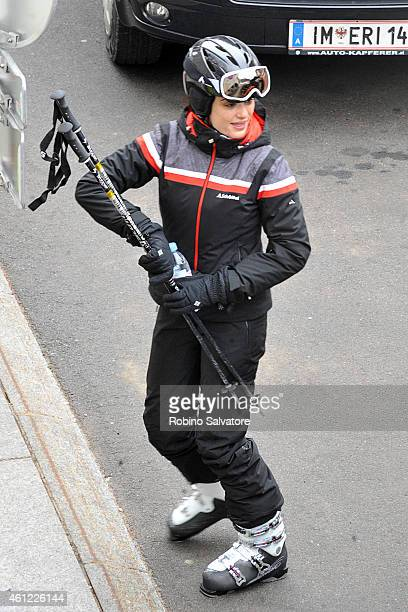 Rachel Weisz is whilst on holiday on January 9 2015 in Solden Austria