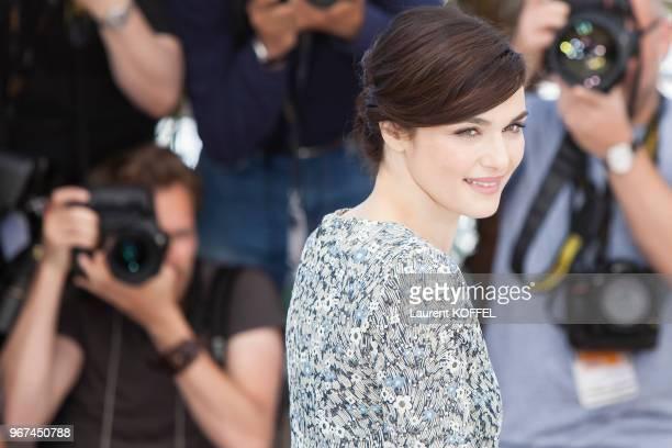 Rachel Weisz lors du photocall du film Youth' pendant le 68eme Festival du Film Annuel au Palais des Festivals le 20 mai 2015 Cannes France