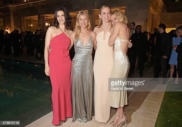 Rachel Weisz, Melanie Laurent, Emily Blunt and Sienna Miller attend as The IFP, Calvin Klein Collection & euphoria Calvin Klein Celebrate Women In...