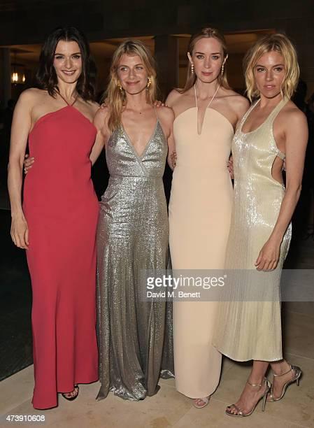 Rachel Weisz Melanie Laurent Emily Blunt and Sienna Miller attend as The IFP Calvin Klein Collection euphoria Calvin Klein Celebrate Women In Film at...