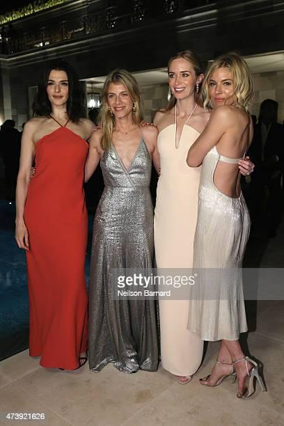 Rachel Weisz, Melanie Laurent, Emily Blunt and Sienna Miller attend IFP, Calvin Klein Collection & euphoria Calvin Klein celebrate Women in Film at...