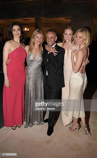 Rachel Weisz, Melanie Laurent, Francisco Costa, Women's Creative Director of Calvin Klein Collection, Emily Blunt and Sienna Miller attend as The...