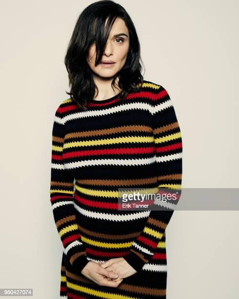 Rachel Weisz of the film Into the Disobedience poses for a portrait during the 2018 Tribeca Film Festival at Spring Studio on April 23 2018 in New...