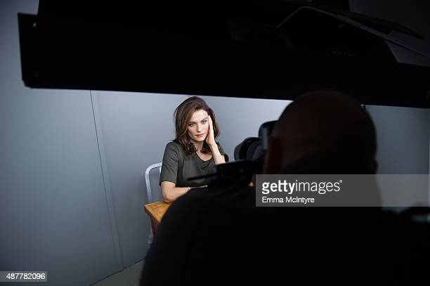Rachel Weisz poses for a portrait in the Guess Portrait Studio at the Toronto International Film Festival on September 11 2015 in Toronto Canada