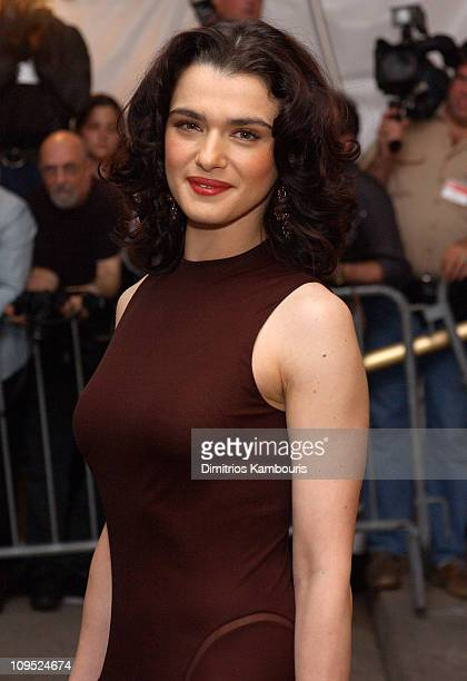 Rachel Weisz wearing Calvin Klein during Costume Institute Benefit Dance 'Party of the Year' Arrivals at Metropolitan Museum of Art in New York City...