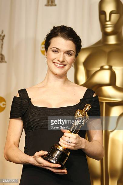 Rachel Weisz winner Best Actress in a Supporting Role for The Constant Gardener at the Kodak Theatre in Hollywood California