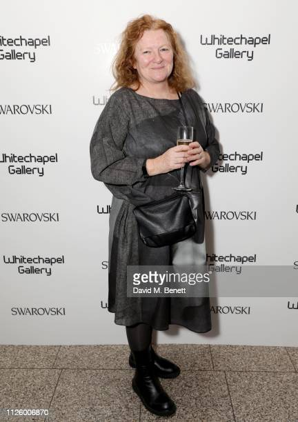 Rachel Whiteread is celebrated as the recipient of the Whitechapel Gallery Art Icon with Swarovski at a glamorous gala dinner at the Whitechapel...