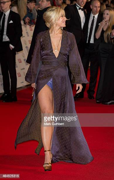 Rachel Wilde attends the National Television Awards at 02 Arena on January 22 2014 in London England