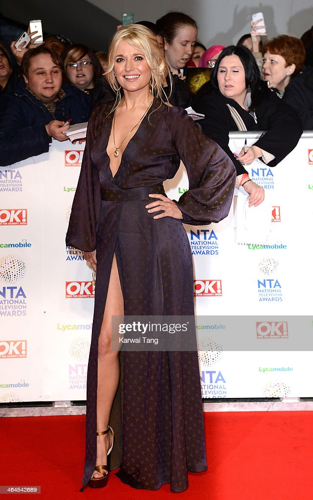 Rachel Wilde attends the National Television Awards at the 02 Arena on January 22, 2014 in London, England.