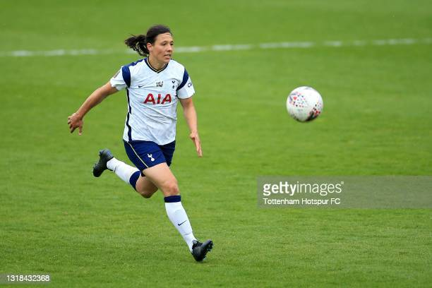 Rachel Williams of Tottenham Hotspur during the Vitality Women's FA Cup 5th Round match between Tottenham Hotspur Women and Sheffield United Women at...