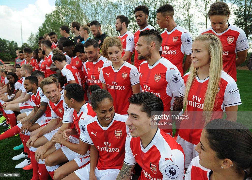 Arsenal 1st Team Squad:Season 2016/17