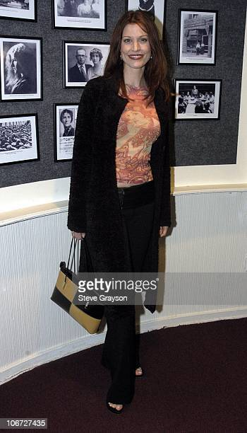 Rachel York during Renee Taylor's OneWoman Stage Portrait An Evening With Golda Meir Premiere Engagement at The Canon Theater in Beverly Hills...
