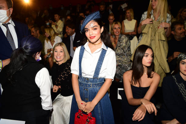 FRA: Dior: Backstage Greetings - Paris Fashion Week - Womenswear Spring Summer 2022