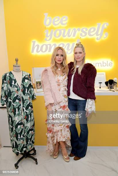 Rachel Zoe and Erin Foster attend A day of Style with Designer Rachel Zoe at Bumble Hive LA at Melrose Place on March 15 2018 in Los Angeles...